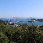 青空に誘われて瀬戸大橋を眺めに・・・