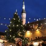 タリンのクリスマスマーケット。