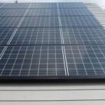 太陽光発電開始しました。