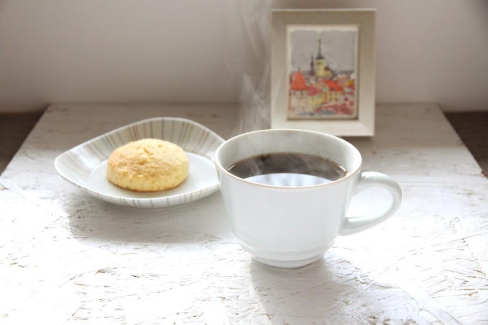コーヒー&スコーン