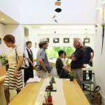 金盛秀禎さんの在廊日。