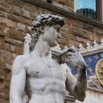 ダビデ像はフィレンツェで。