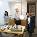 ガラス作家の松島巌さんがご来場くださいました。