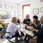 常設展開催中、韓国からお客様来訪。