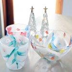 中野由紀子さん、ガラスのクリスマス。