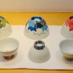 林敦子さんの磁器も素敵です。