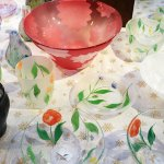 中野由紀子さんのガラスが揃っています。